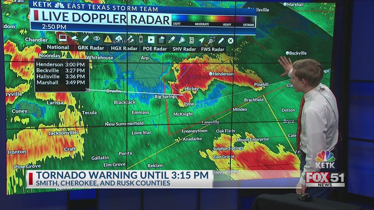 Tornado Warning On Hwy 79 Youtube