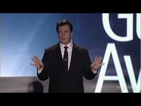 Castle star Nathan Fillion opens the 2013 Writers Guild Awards L.A. show