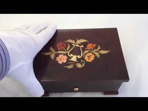 Reuge music box, 2 tune 50 note, My Funny Valentine