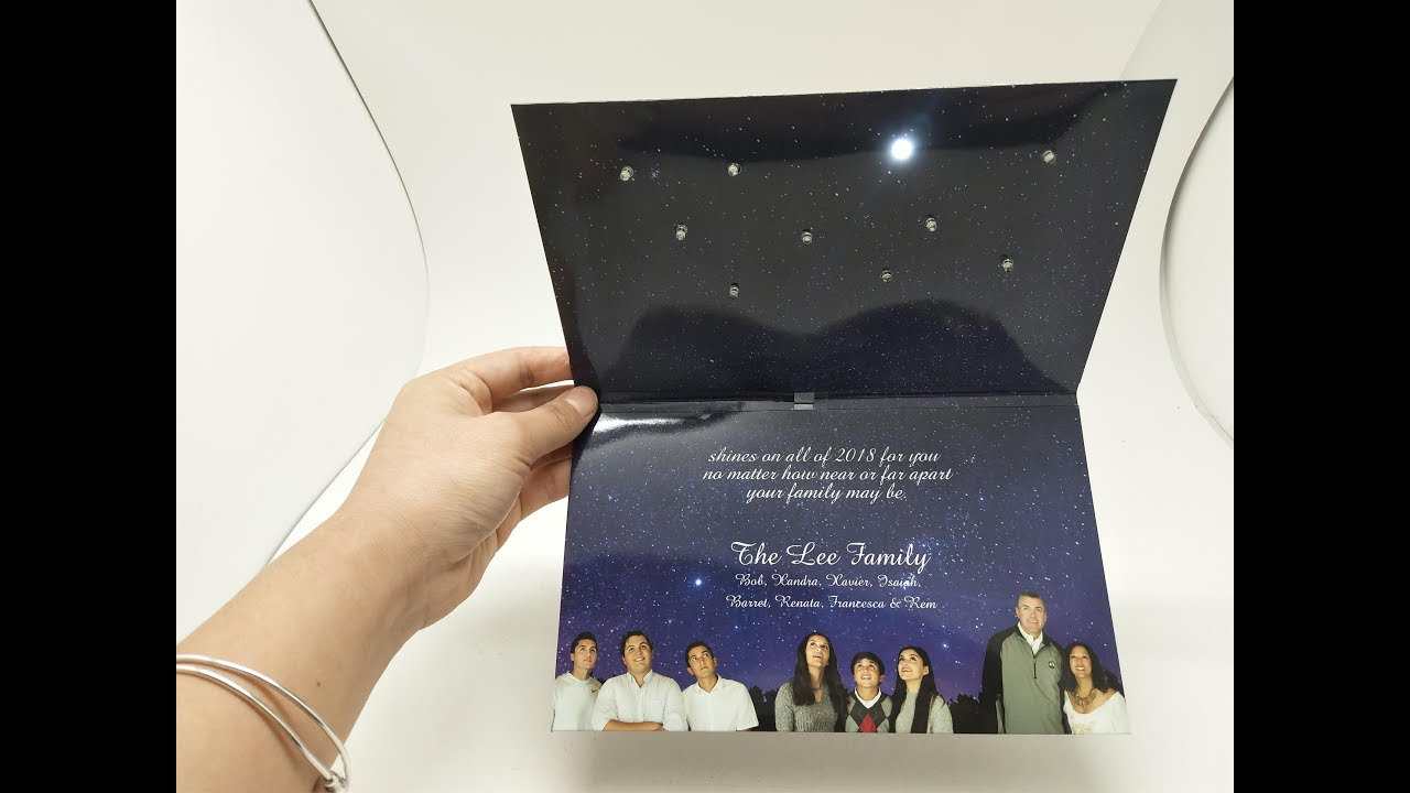 Soundcard the lee family customized holiday greeting card with soundcard the lee family customized holiday greeting card with music m4hsunfo