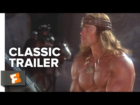 Conan the Destroyer (1984) Official Trailer - Arnold Schwarzenegger Action Movie HD