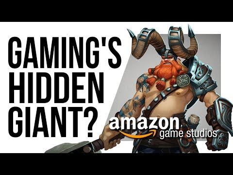 Is AMAZON making a BIG MOVE into the Games Industry!?