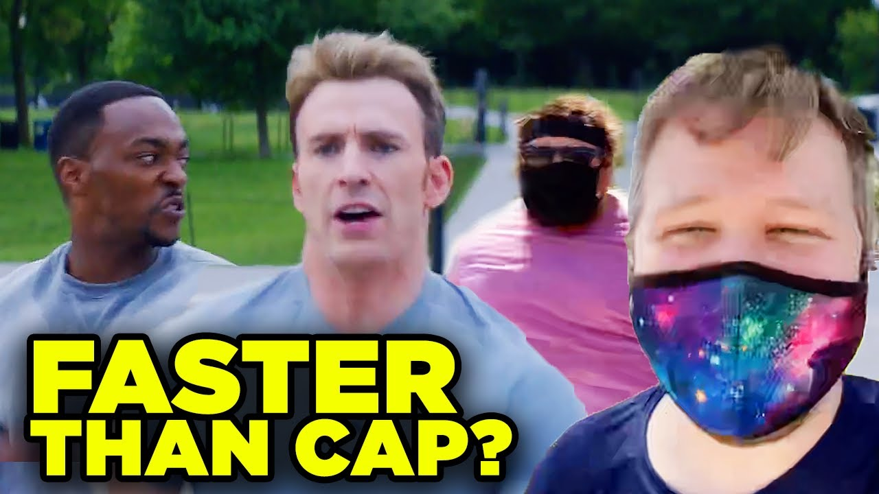 "Captain America Winter Soldier ""On Your Left"": Fitness Challenge Episode 5"