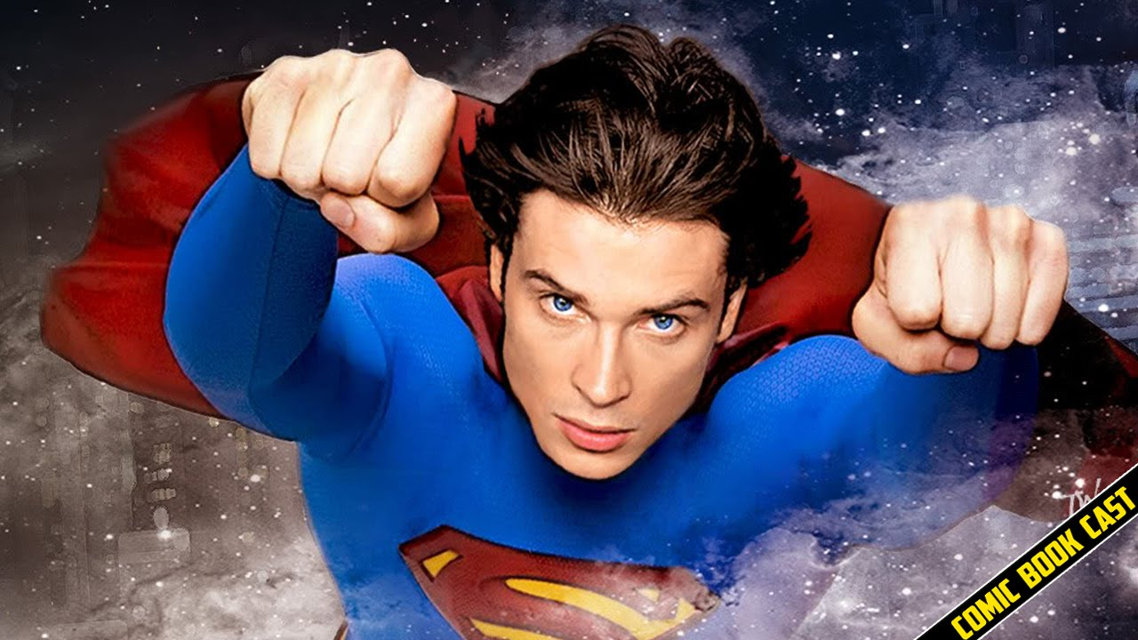 Tom Welling talks Playing Superman on Supergirl - YouTube
