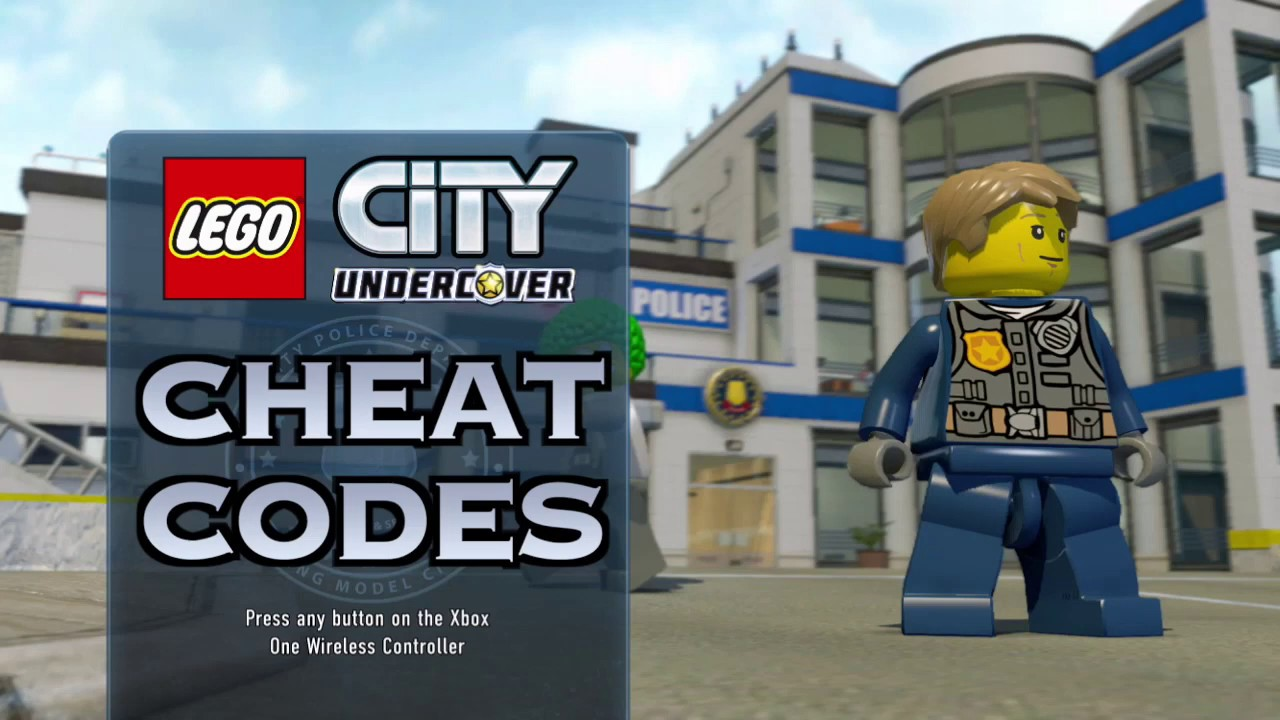 Lego City Undercover Cheat Codes Youtube
