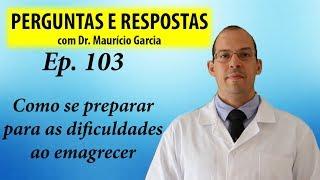 Imprevistos no emagrecimento (e como lidar) - Perguntas e Respostas com Dr Mauricio Garcia ep 103