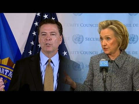 Hillary Clinton vs. James Comey: Email Scandal Supercut