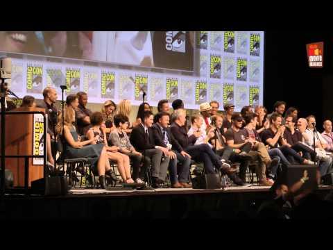 Gotham & Flash & Constantine & Arrow FULL ComicCon panel San Diego 2014 DC Comics