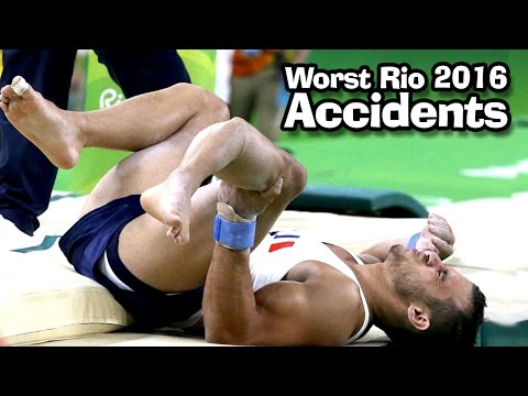 Worst Accidents at Rio 2016 Olympics