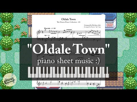 """""""Oldale Town"""" (from """"Pokémon RSE"""") 