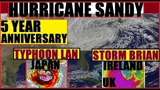 "5 years ago to the day we first Herd of the possibility of ""Sandy"" ..."