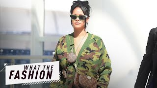 Is Rihanna Combat Ready in Camo Sweater? | What the Fashion | S2, Ep. 29 | E! News