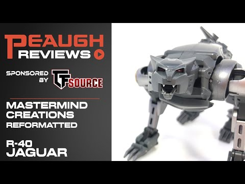 Video Review: Mastermind Creations R-40 JAGUAR