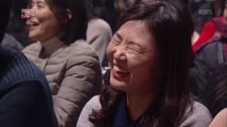 """개그 콘서트 - '핵갈린 늬우스', """"세우라고! 위원장 동상 세우라고!"""". 20170115"""