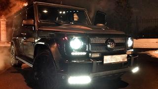 1000 сил Гелик в BRABUS'е - обзор + BMW X6M 800 сил! Mercedes G 63, G 65, Gelandewagen, G-Class, AMG