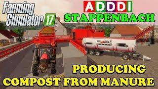 Farming Simulator 17 | Adddi's home hosted server | Stappenbach | Episode 4 | Timelapse