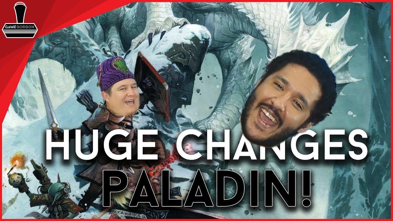 Pathfinder 2E *Huge* Paladin Changes   GameGorgon