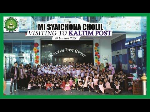 MI Syaichona Cholil - visiting to Kaltim Post Balikpapan