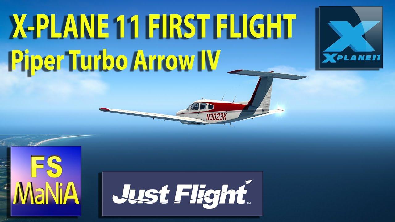 X-PLANE 11 FIRST FLIGHT