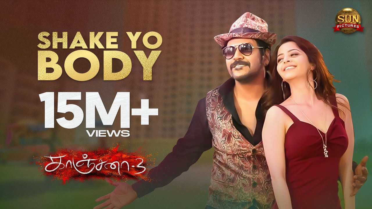 Download Shake Yo Body | Video Song | Kanchana 3 | Raghava Lawrence | Vedika | Sun Pictures