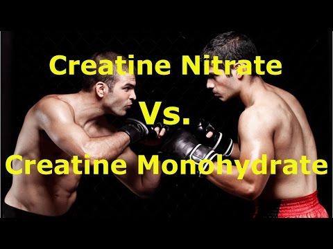 Creatine Monohydrate Vs Creatine Nitrate