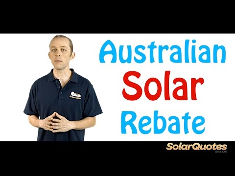 All About The Australian Solar Rebate