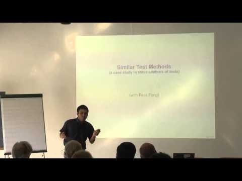 Static and Dynamic Analysis of Test Suites - Patrick Lam