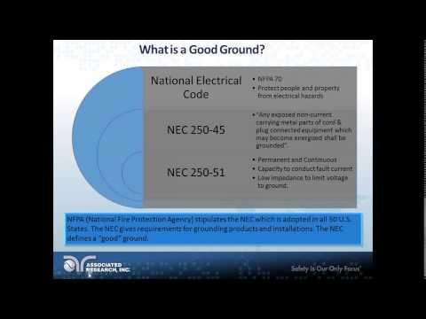 Ground Bond & Ground Continuity Testing