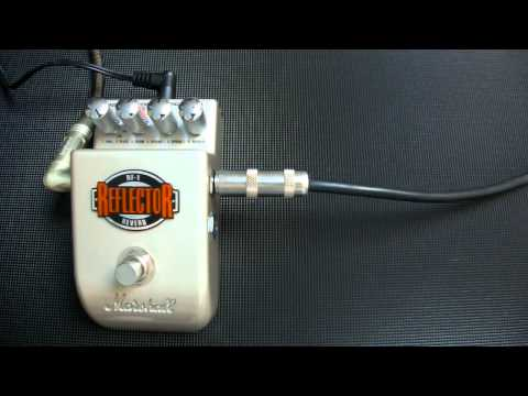 Marshall Reflector, Reverb pedal demo, Msm workshop.