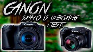 Canon Powershot SX410 Unboxing & Test!