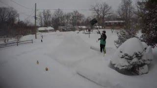 Snowzilla - Greenbelt, Maryland - 1.22-23.16 - Time Lapse