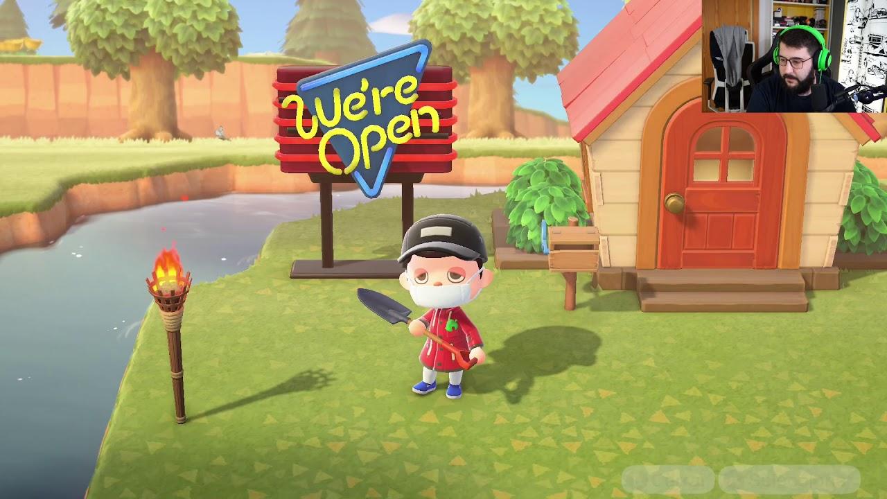 HACIENDO TODO LO QUE PUEDO - Animal Crossing New Horizons - Directo 3