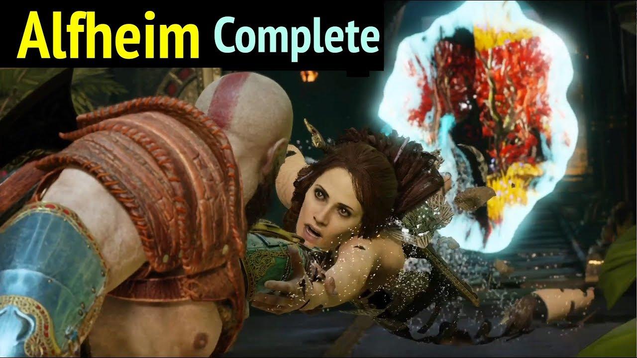 God Of War Alfheim Complete Walkthrough God Of War 4 Gameplay