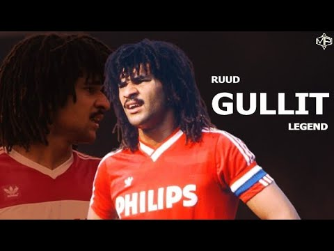 Ruud Gullit ►The King ● 1985/1987 ● PSV Eindhoven ᴴᴰ