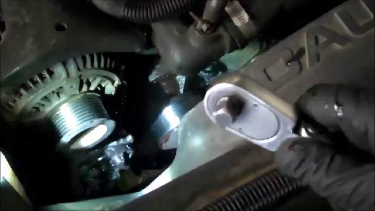 Water Pump Replacement Dodge Ram 5 9l Diesel 1994 2009
