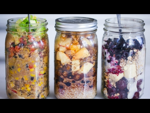 ON THE GO VEGAN BREAKFAST IDEAS // 3 MINUTE HEALTHY MEALS