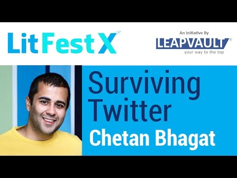 Live with Chetan Bhagat: Surviving Twitter