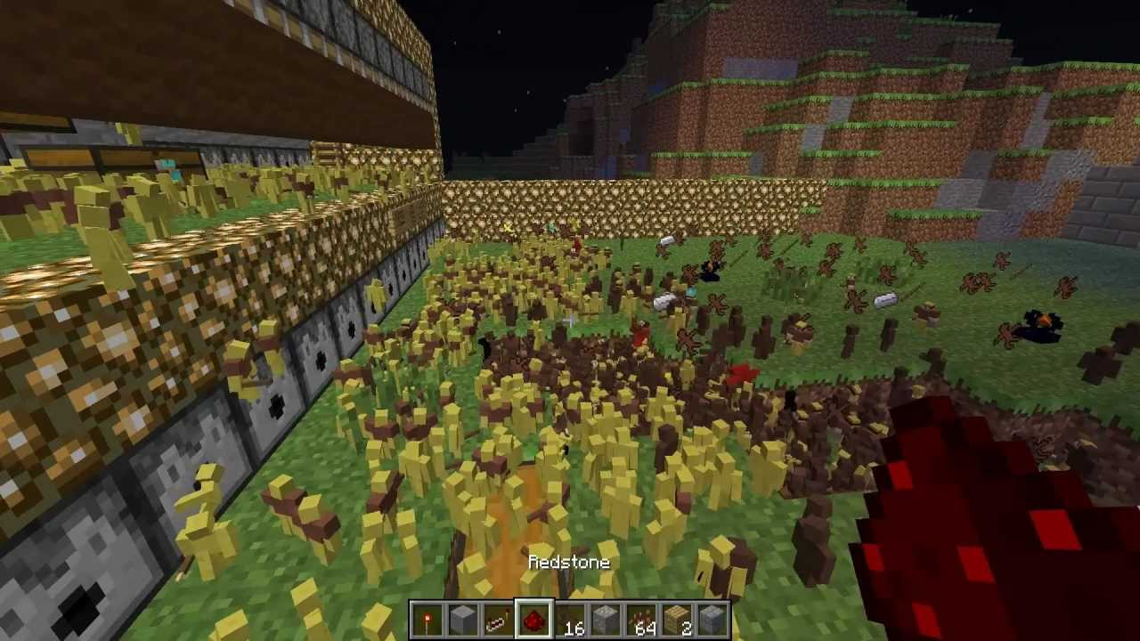Uruk Hai Lotr Minecraft 10.000 Clay ...