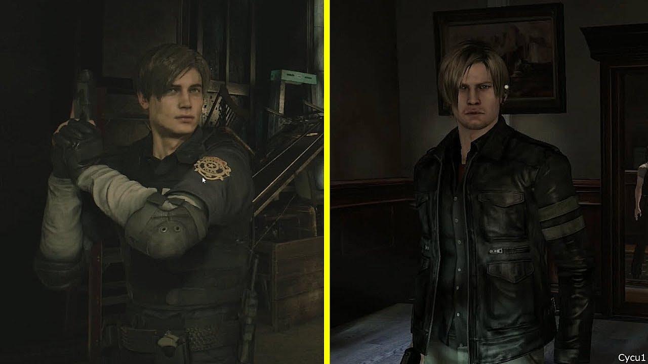 Resident Evil 2 Vs Resident Evil 6 Leon Character Model