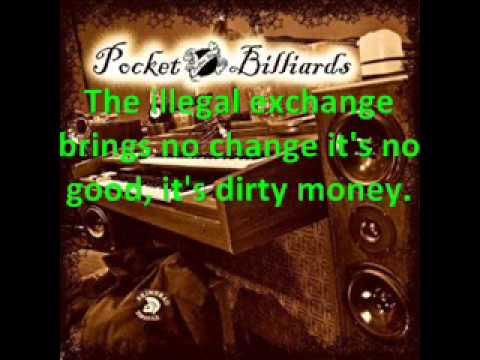 Pocket billiards - Dirty money lyrics