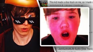 I CALLED the kid who made a DISS TRACK on me...