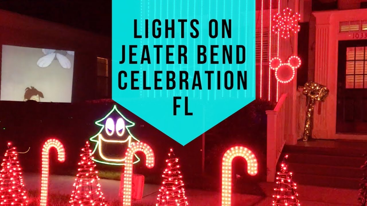 Tampa Christmas Radio Station.Lights On Jeater Bend Celebration Christmas Lights 2019