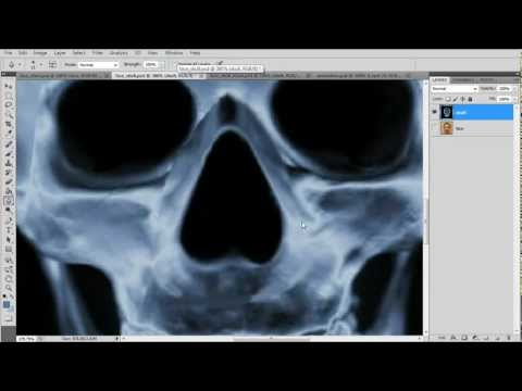 Photoshop X-Ray Scanner