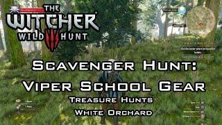The Witcher 3: Wild Hunt - Scavenger Hunt: Viper School Gear - Treasure Hunts - White Orchard