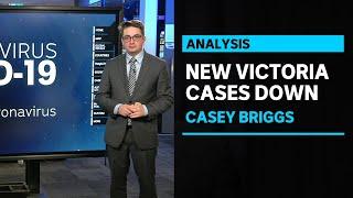 Casey Briggs breaks down the latest figures for Victoria's coronavirus outbreak | ABC News