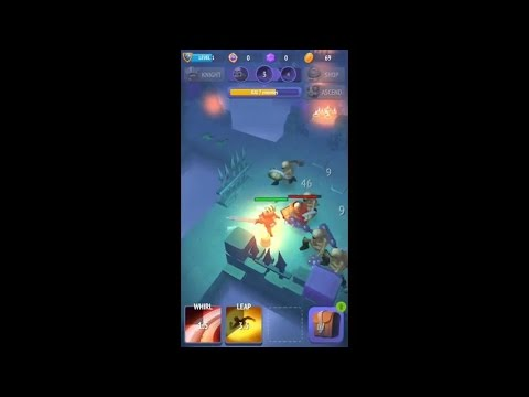 Nonstop Knight (by flaregames) - rpg game for android - gameplay.