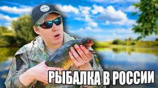 Летняя рыбалка в России! СТРИМ!
