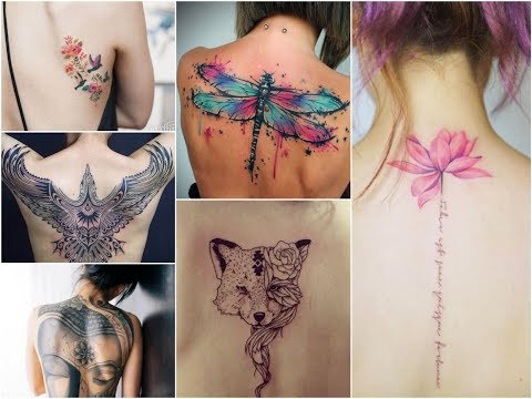 Awesome Back Tattoo Design Ideas For Womens