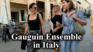 Work in Progress - Gauguin Ensemble with cellist Mayke Rademakers (Italy, August 2019)