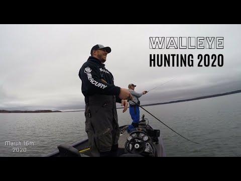 WALLEYE FISHING LAKE S. - MISSOURI 2020
